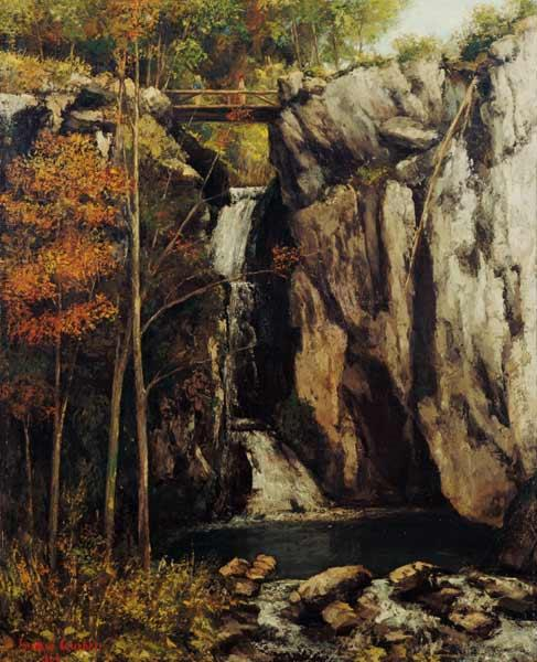 The Chasm at Conches 1864
