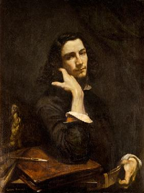 The Man with the Leather Belt. Portrait of the Artist c.1846