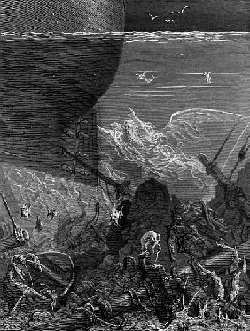 The Spirit that had followed the ship from the Antartic, scene from ''The Rime of the Ancient Marine