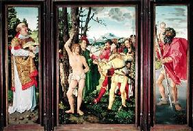 Altarpiece of the Martyrdom of St. Sebastian 1507