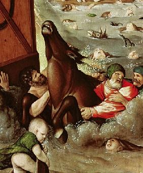 The Flood, 1516 (detail of 158844)