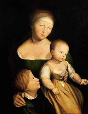 The Artist's Wife and Children 1528