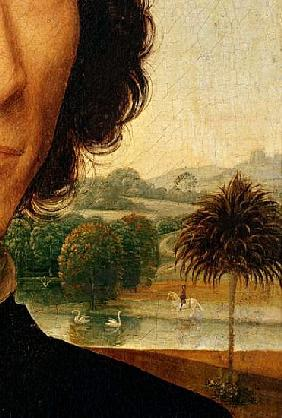 Detail of Portrait of a Man with a Coin, c.1473-74 (detail of 179412)