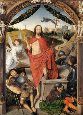 The Resurrection, central panel from the Triptych of the Resurrection c.1485-90