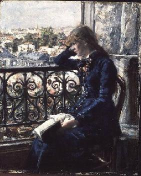 At the Window 1881