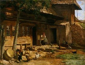 The Parental Home in Bernau 1866