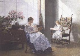 Mrs Masarai and her Daughter 1896
