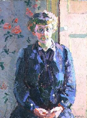 Portrait of Sylvia Gosse (1881-1968) c.1912-14