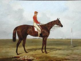A Portrait of 'The Cossack', Winner of the 1847 Derby with S. Templeman Up 1847