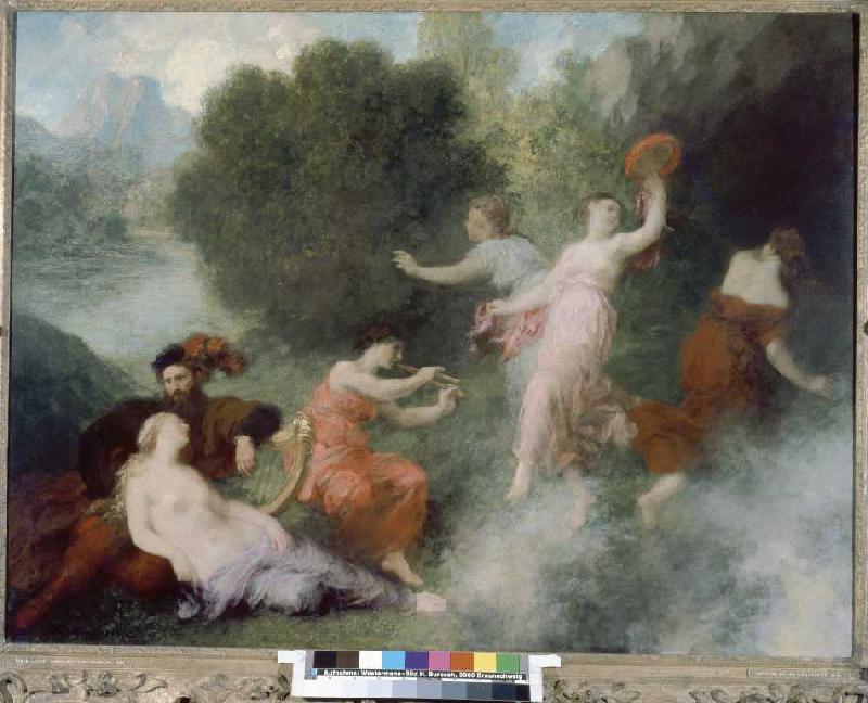 Tannhäuser-Szene - Henri de Fantin-Latour als Kunstdruck oder ...