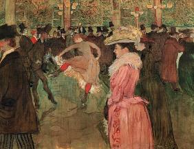 Tanz im Moulin Rouge 1890