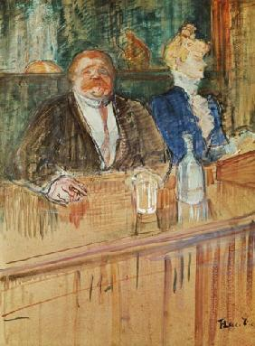 In the Bar: The Fat Proprietor and the Anaemic Cashier 1898