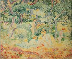 Nudes in a Wood 1905
