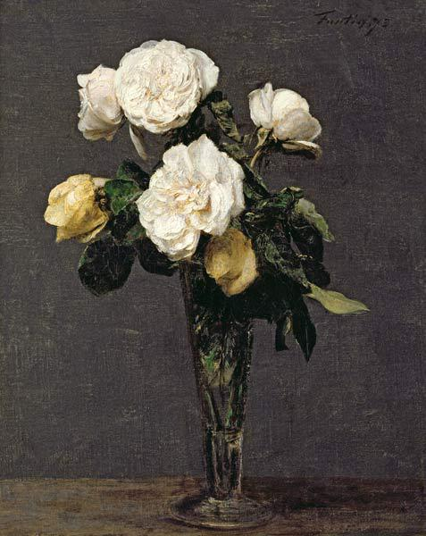 Roses in a Champagne Flute 1873