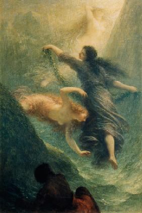 Rheingold, first scene 1888