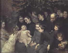 The Drop of Milk in Belleville: The Christmas Tree at the Dispensary 1908