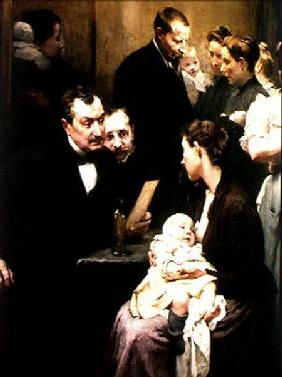 The Drop of Milk in Belleville: Doctor Variot's Surgery, the Consultation 1903