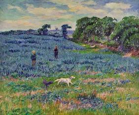 Kunstdruck von Henri Moret - Landschaft in der Bretagne
