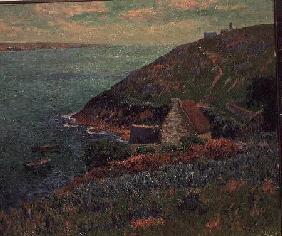 Kunstdruck von Henri Moret - The Bay of Biscay, Brittany