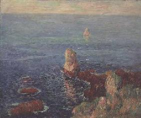 Kunstdruck von Henri Moret - The Island of Groix