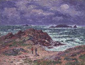 A Squall, Finistere 1911