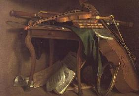 The Musician's Table c.1760