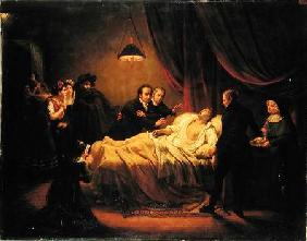 The Death of Mazet 1821