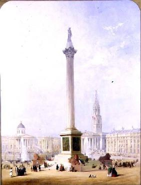 Projected View of Trafalgar Square 1844