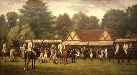 Polo at Hurlingham 1890