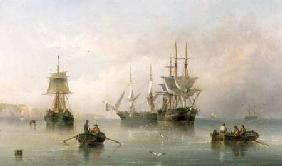 Shipping in a Calm 1867
