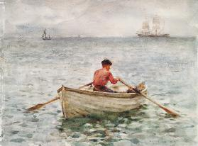 The Waterman and His Boat 1921  on
