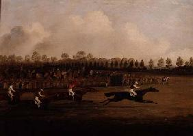Finish of the Doncaster St. Leger 1827