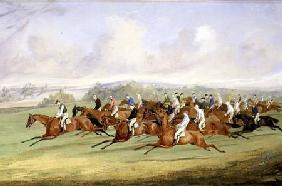 The Start of the Derby 1844