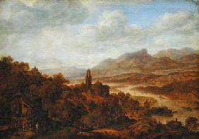 Landscape with the River Rhine 1652