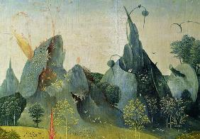 The Garden of Eden, detail from the right panel of The Garden of Earthly Delights c.1500
