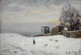 Snow at Montmartre 1869