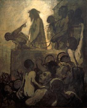 Kunstdruck von Honoré Daumier - Ecce Homo