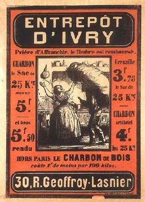 Kunstdruck von Honoré Daumier - Entrepôt d´lvry