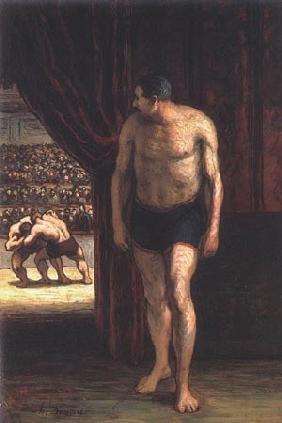 Kunstdruck von Honoré Daumier - Le Lutteur