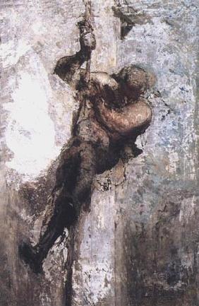 Kunstdruck von Honoré Daumier - L´Homme à la corde