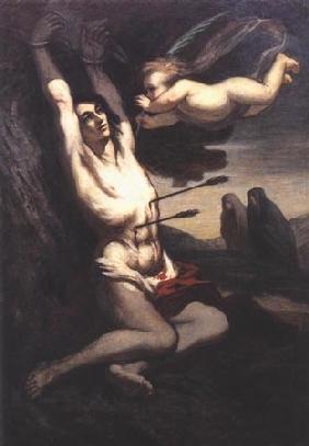 Kunstdruck von Honoré Daumier - Martyre de saint Sébastien