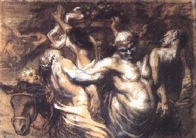 Kunstdruck von Honoré Daumier - Silène