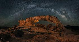 Milky way over the Sunset Arch