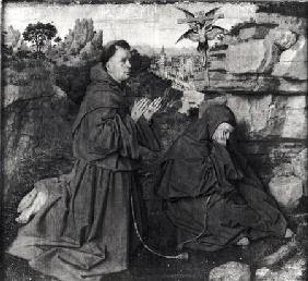 St. Francis Receiving the Stigmata c.1427