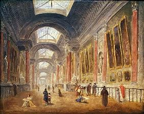 The Grande Galerie of the Louvre