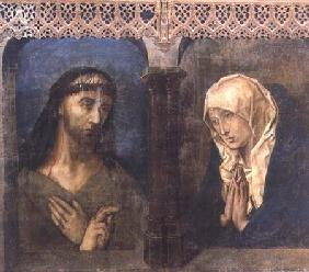 Christ and the Grieving Virgin