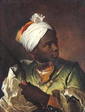 Young Negro with a Bow, c.1697 (oil on canvas) 1510
