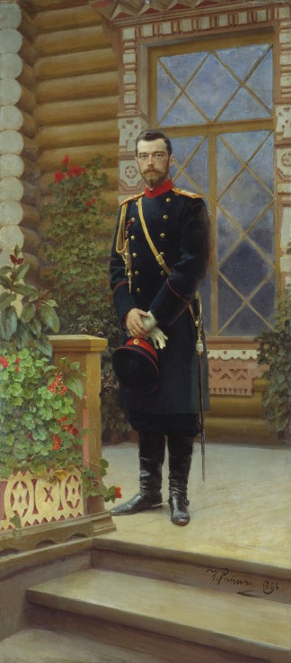 portr t des kaisers nikolaus ii 1868 1 ilja. Black Bedroom Furniture Sets. Home Design Ideas