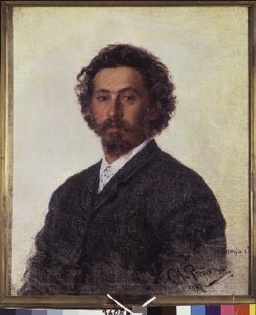 Kunstdruck von Ilja Jefimowitsch Repin - Selbstbildnis