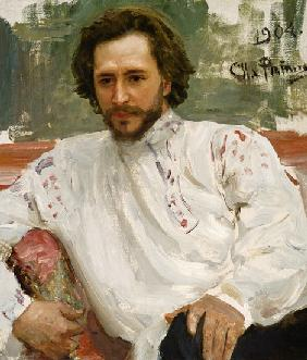 Kunstdruck von Ilja Jefimowitsch Repin - Bildnis Leonid Andrejew
